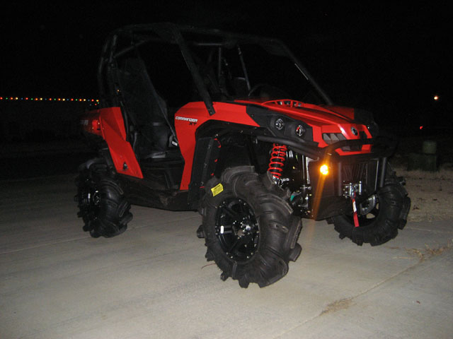 Johnqdare Com 187 New Red 2011 Can Am Commander Xt On 30
